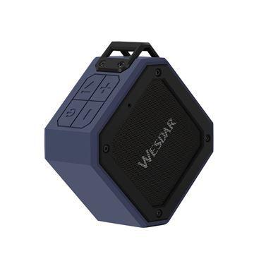 Imagen de Parlante Portable Wesdar K53 Ip66 Blue