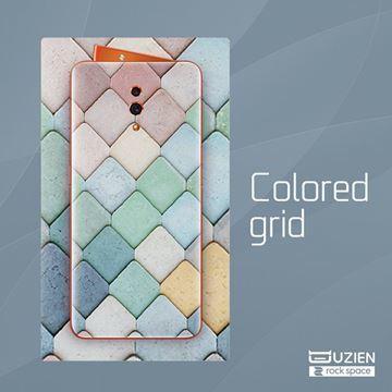 Imagen de Rock Space Insumo Back 6976 Lamina Color Grid X 10