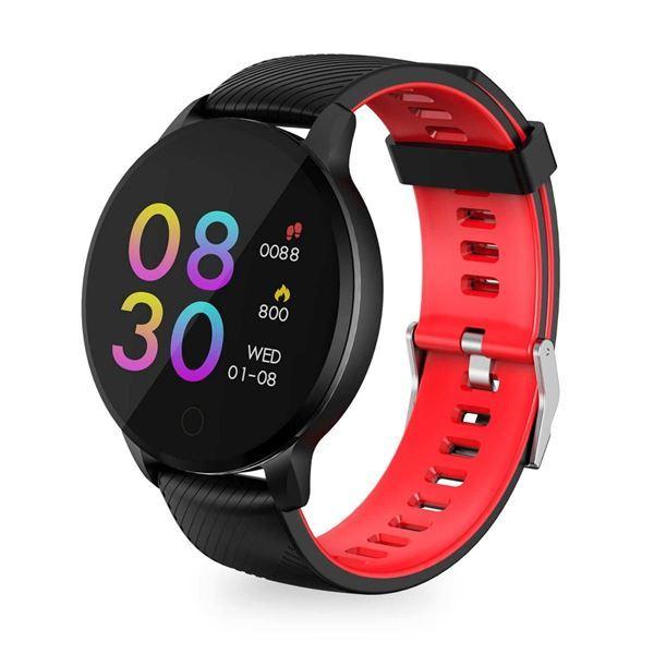 Imagen de Smartwatch Havit H1113a Black+red