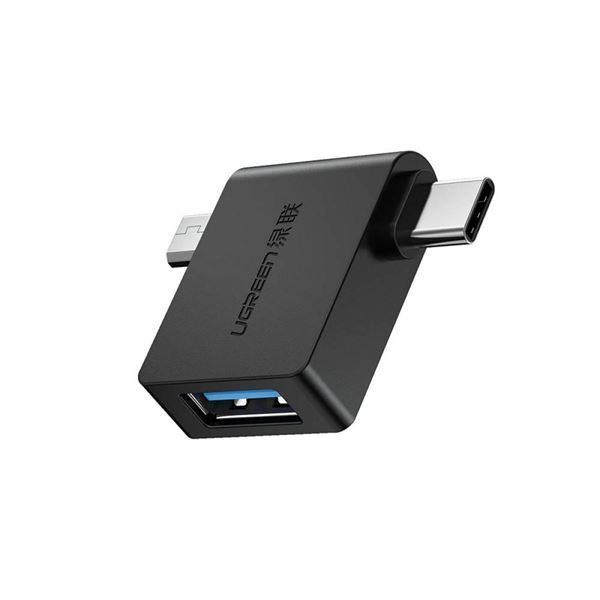 Imagen de Adaptador Ugreen USB 3.0 a MicroUsb / Tipo C
