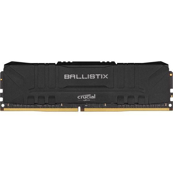 Imagen de Memoria Crucial Ballistix Ddr4 8gb 3000 Black