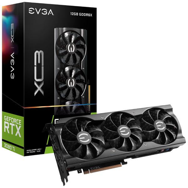 Imagen de EVGA GeForce RTX 3080TI XC3 GAMING 12GB GDDR6X 12G-P5-3953-KR