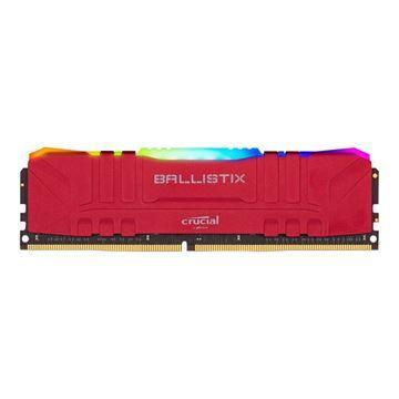 Imagen de Crucial Ballistix 16gb Ddr4 Rgb 3200 Red