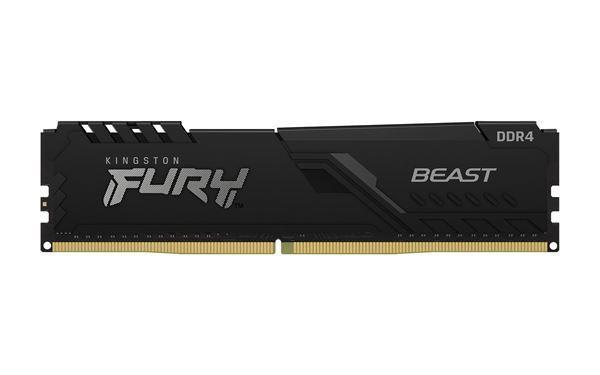 Imagen de Kingston Fury Beast 8gb DDR4 2666 KF426C16BB/8