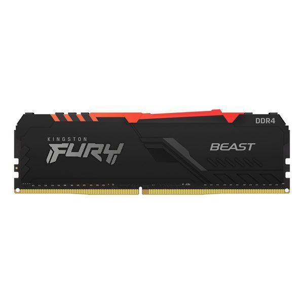 Imagen de Kingston Fury Beast RGB 8gb DDR4 3200 KF432C16BBA/8
