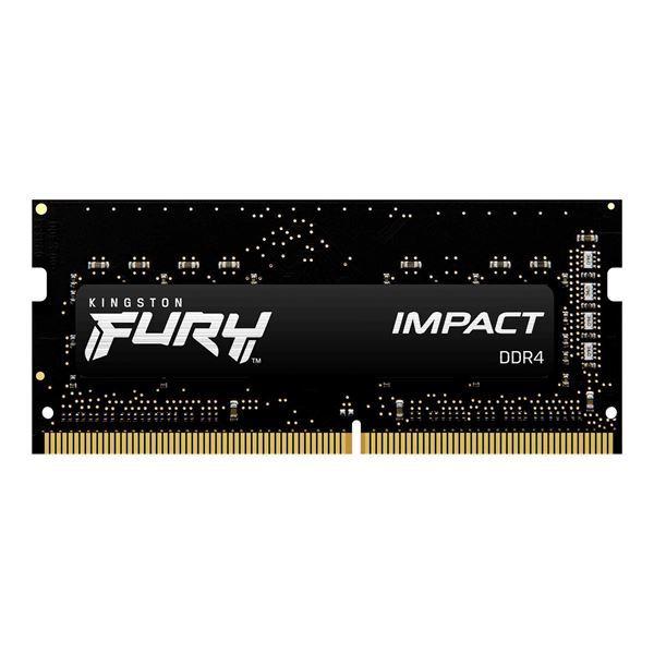Imagen de Kingston Impact 32GB DDR4 Sodimm 3200 KF432S20IB/32 Notebook
