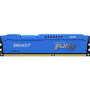 Imagen de Kingston Fury 4gb DDR3 1600 KF316C10B/4