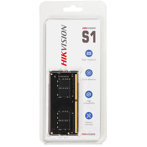 Imagen de Hikvision 8GB DDR4 Sodimm 2666 Notebook HKED4082CBA1D0ZA1
